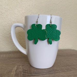 St. Patrick's Day Earrings - Shamrock 8